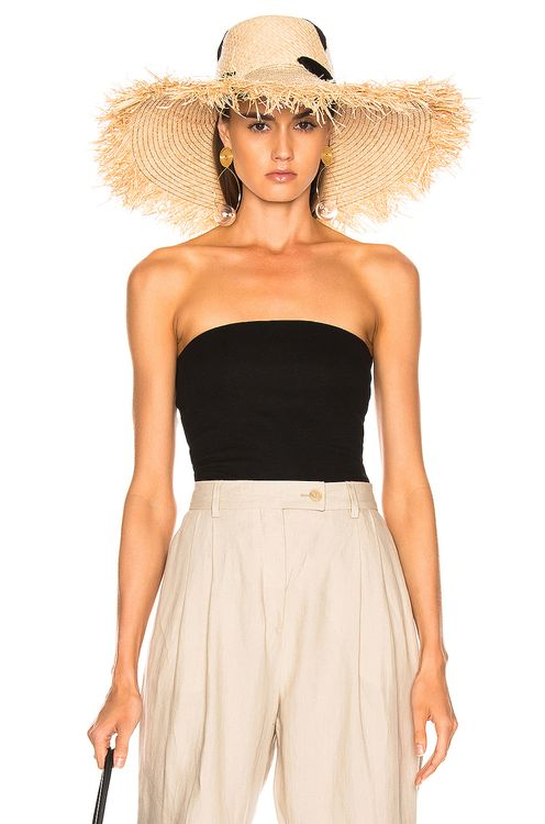 ENZA COSTA Strapless Top