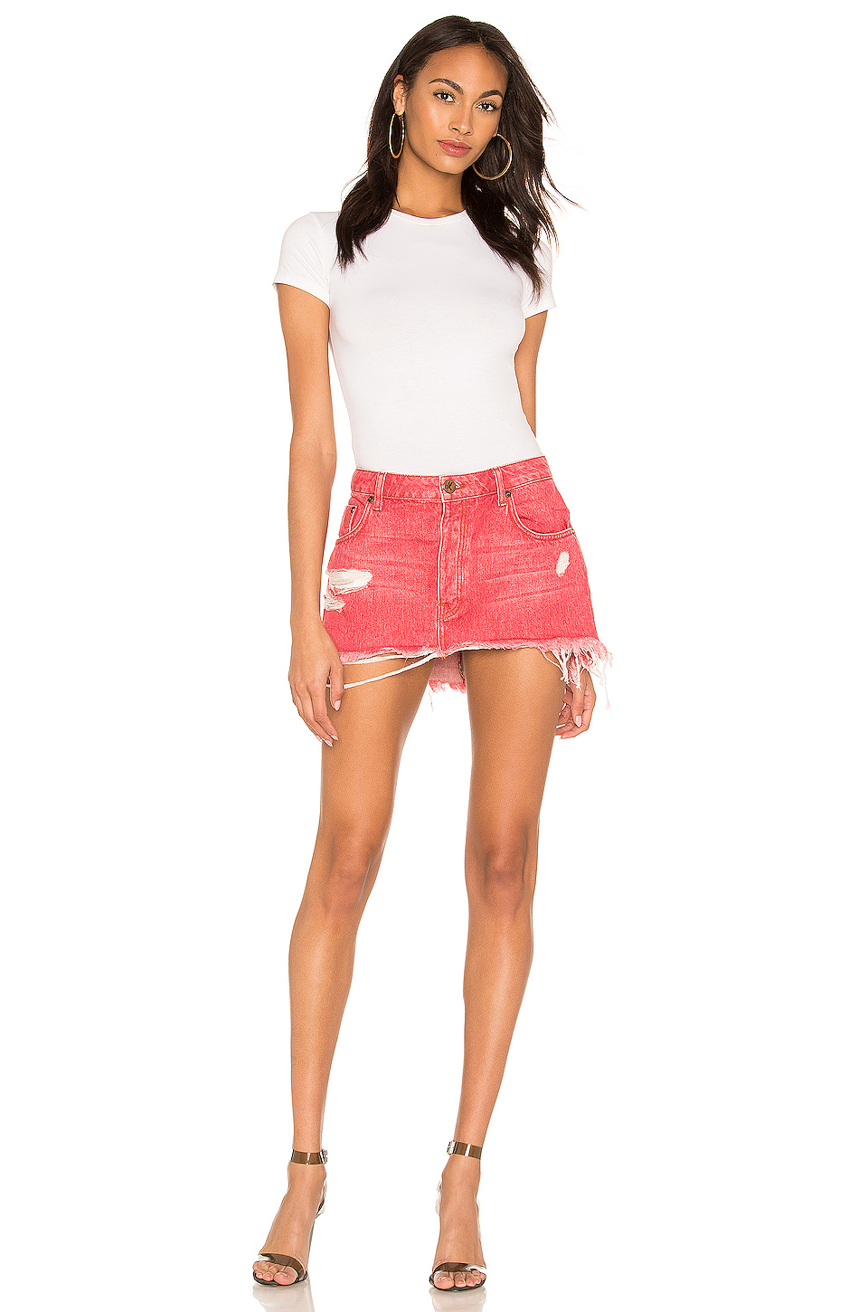 One Teaspoon Junkyard Relaxed Mini Skirt