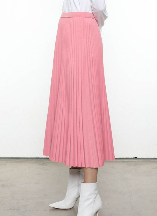 Hattaco Sunray Skirt - Strawberry Milk
