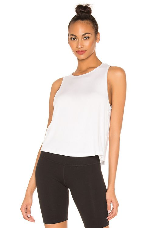 Beyond Yoga Over Under Relaxed Tank