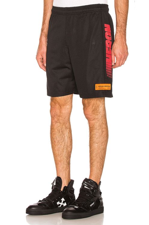 Heron Preston Basket Heron Shorts