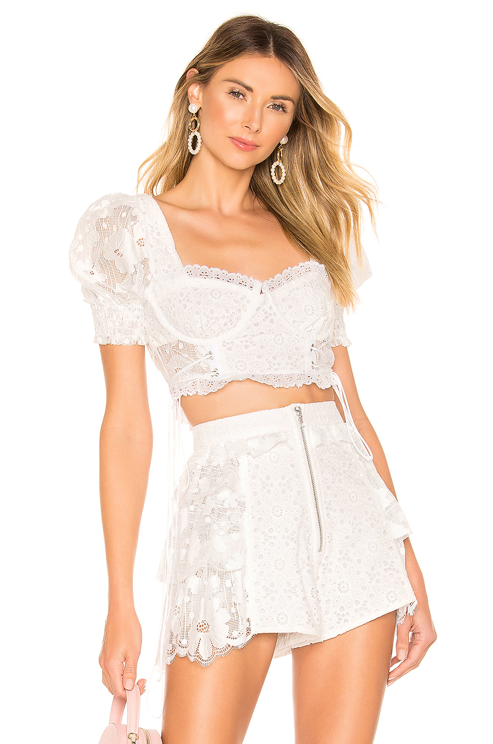 175c12a382a Buy Original For Love   Lemons Indio Lace Crop Top at Indonesia ...