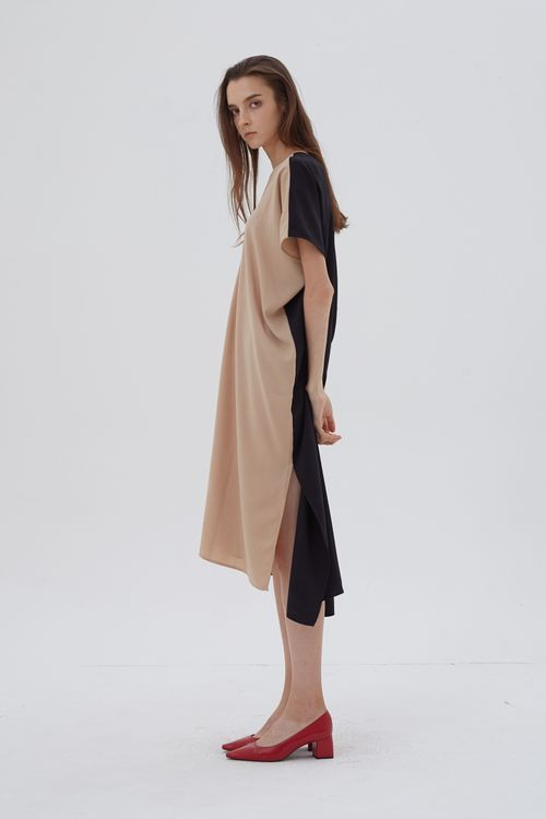 Shopatvelvet Elevation Dress Two-Tone