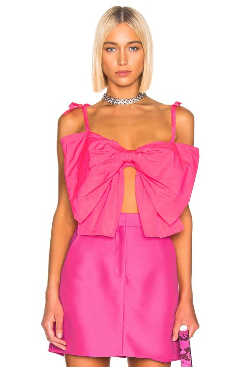 MSGM Bow Crop Top