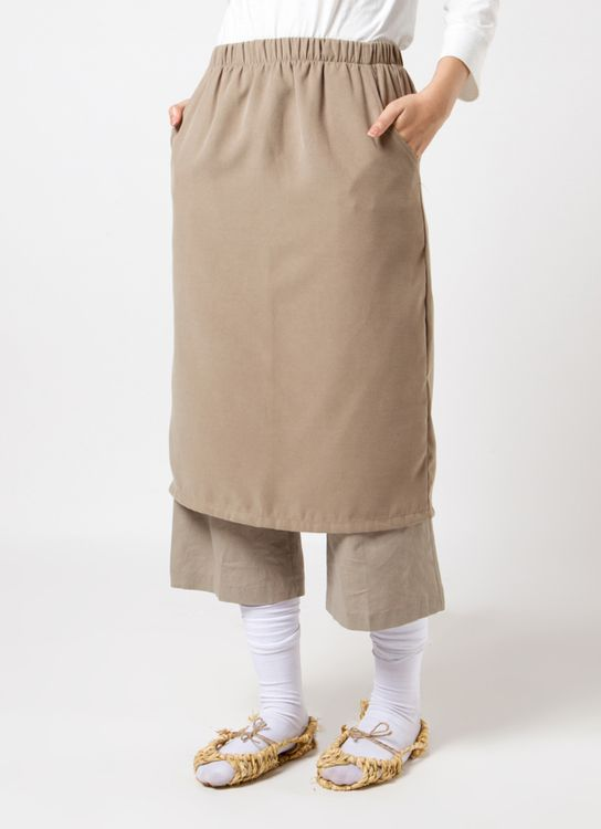 Sayee Basic Skirt - Beige