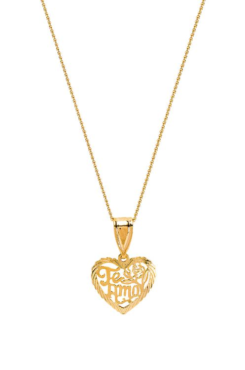 The M Jewelers NY The Te Amo Heart Pendant Necklace