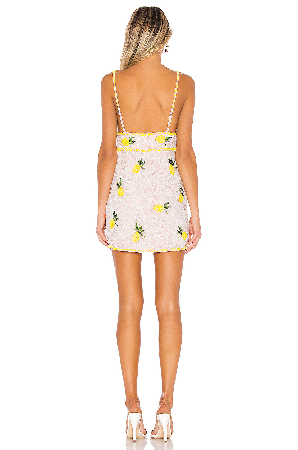 X by NBD Kelsey Embroidered Dress