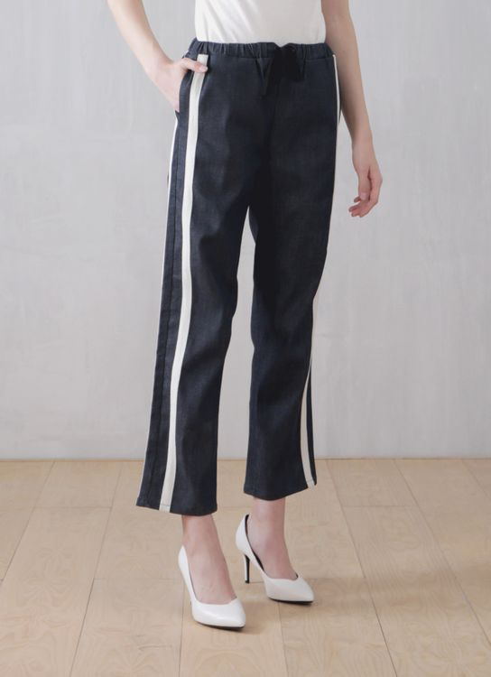 Wastu Baluster Trousers - Denim