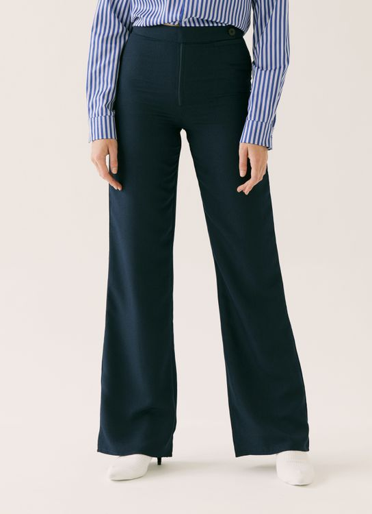 ATS THE LABEL Goldie Navy Pants - Navy