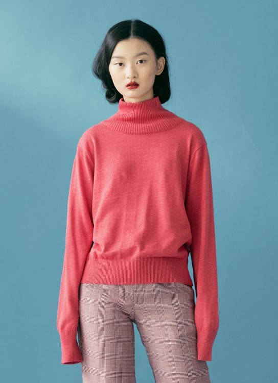 ATS THE LABEL Unica Rose Sweater - Rose