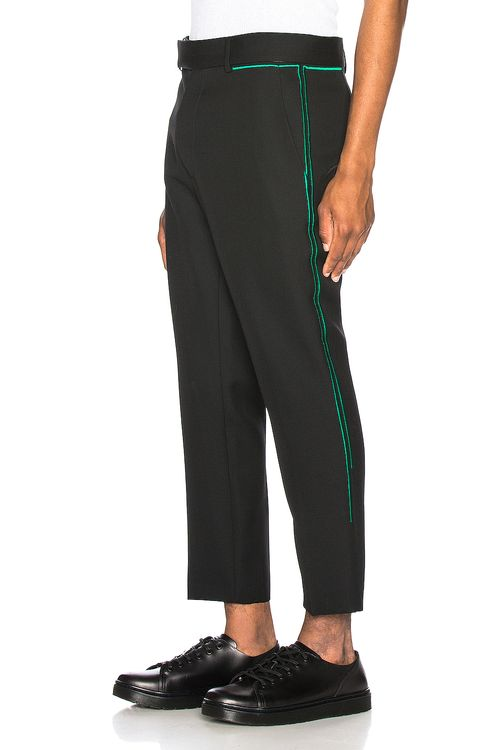 Haider Ackermann Embroidered Skinny Trouser