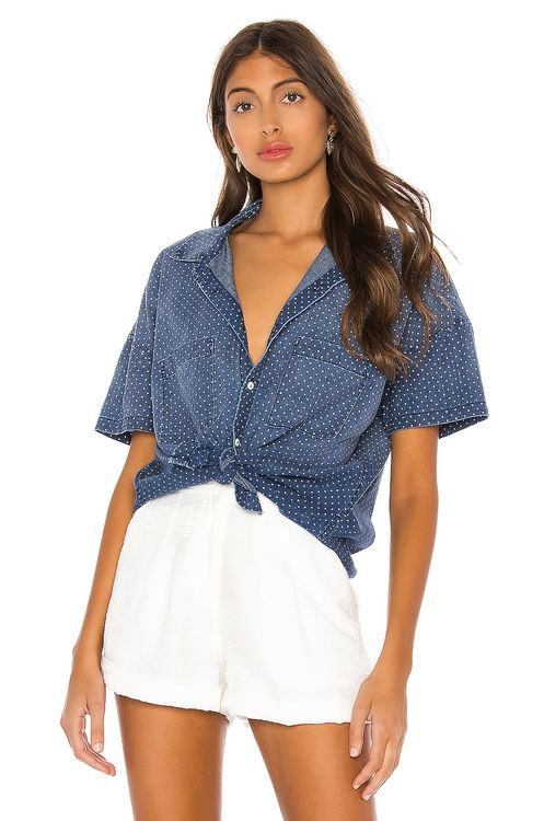 AMO Short Sleeve Boxy Shirt