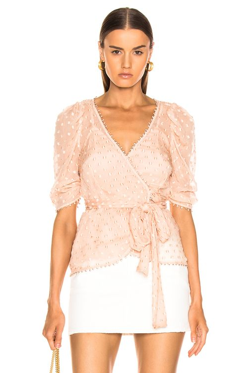 Alice McCall Moon Talking Wrap Blouse