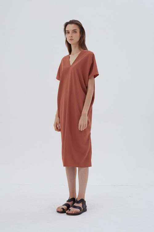 Shopatvelvet Elevation Dress Rosewood