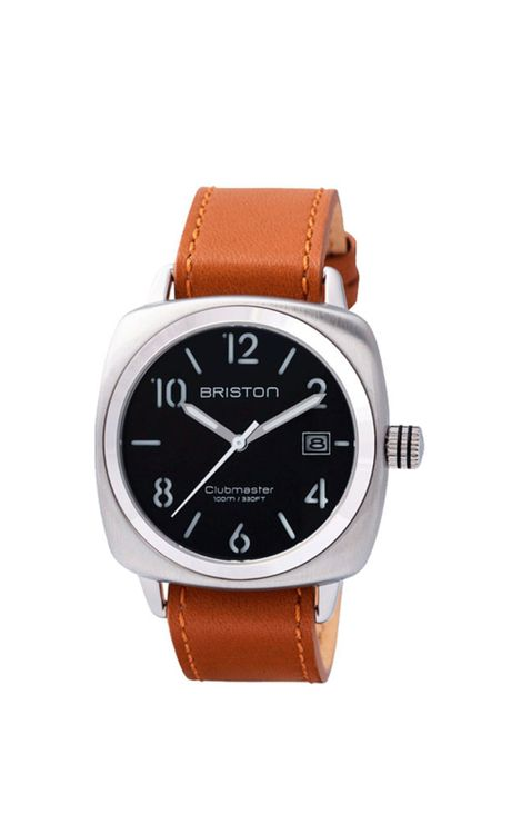 BRISTON Briston Clubmaster Classic Steel HMS Black Dial 40mm
