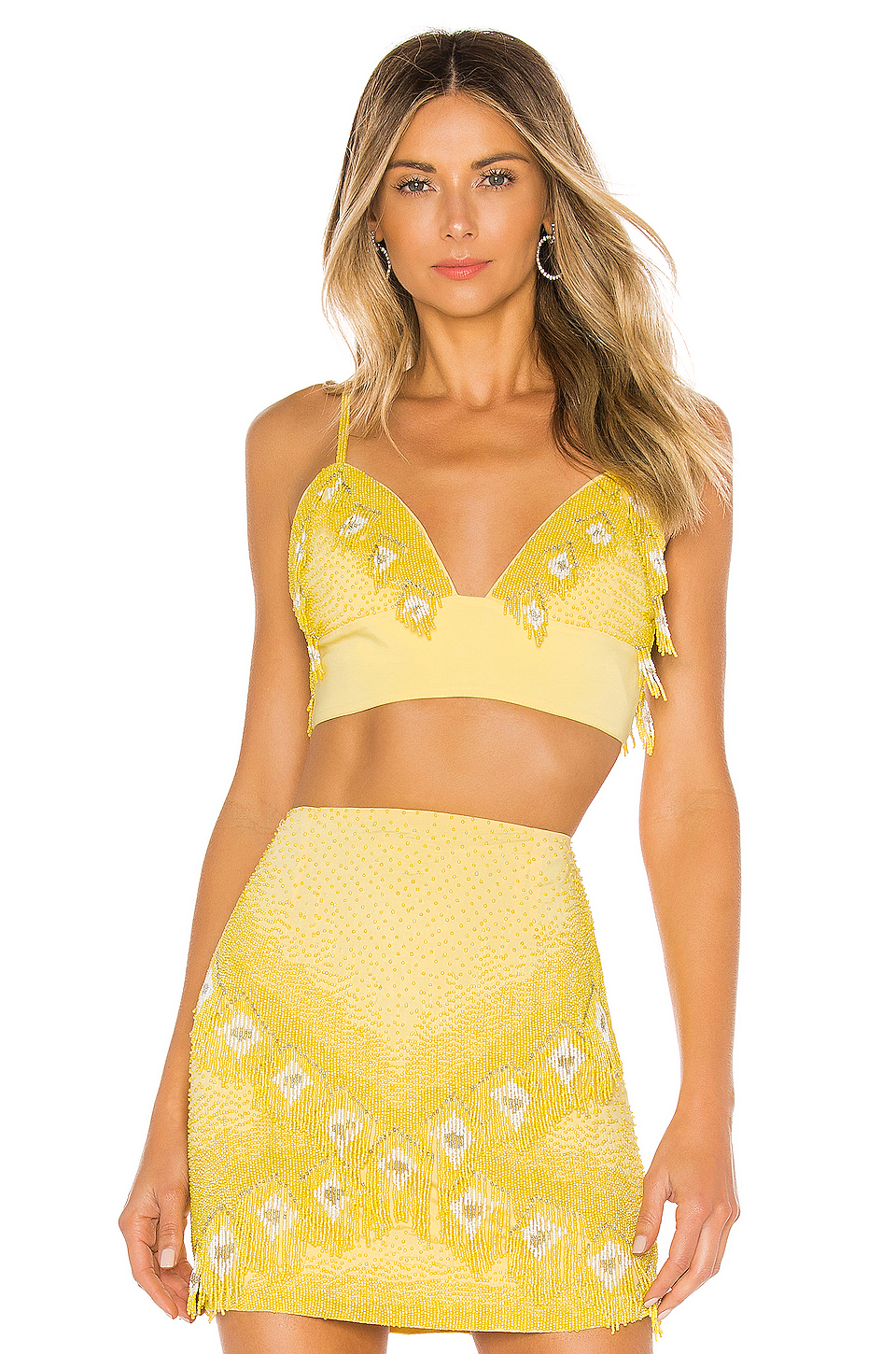 X by NBD Marley Embellished Top