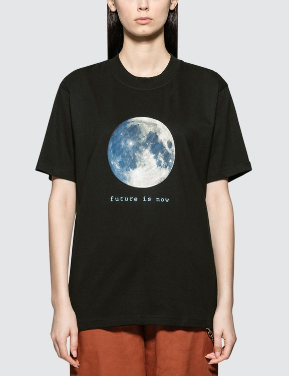 Wasted Paris Future Is Moon Black Short Sleeve T-shirt
