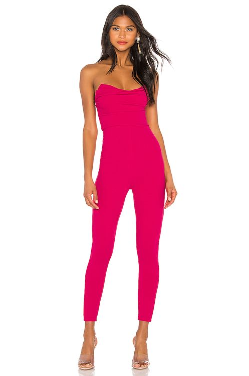 3eb58ed248 super down. Clarice Strapless Jumpsuit