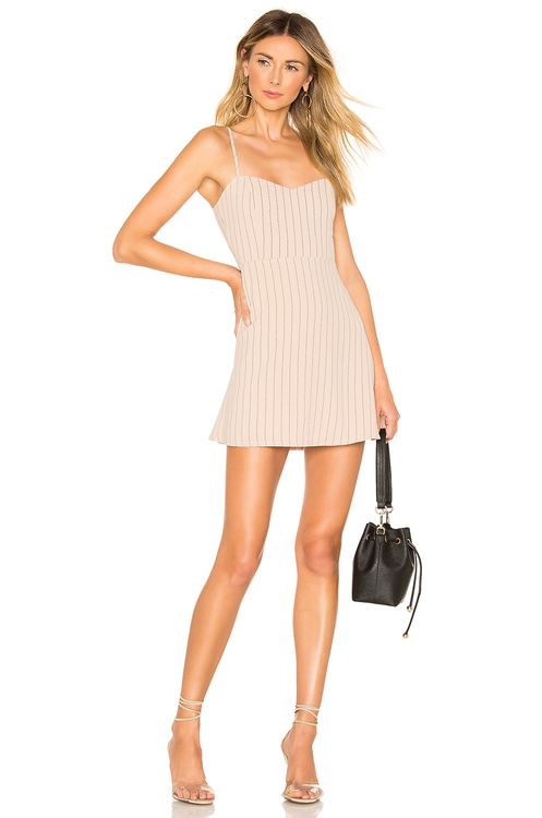 About Us Violet Sweetheart Mini Dress