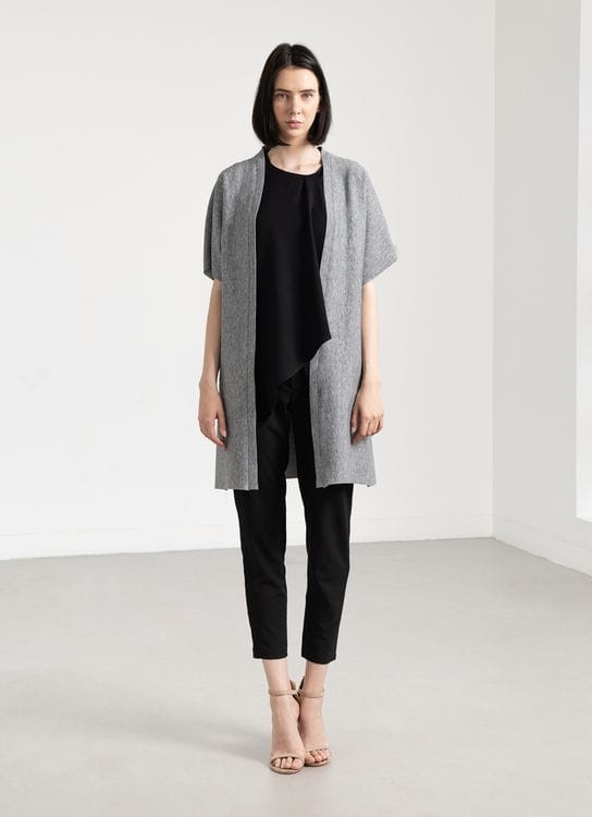 Clemence Iko Outer - Gray