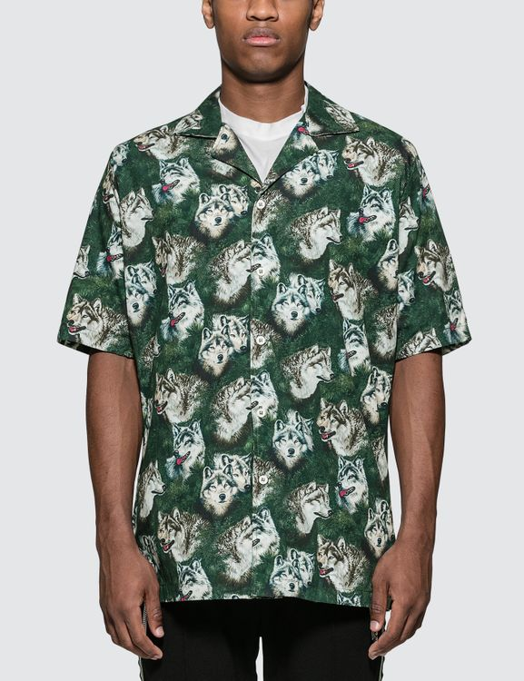 """Rhude Truck Stop """"Wolf In The Pines"""" Shirt"""
