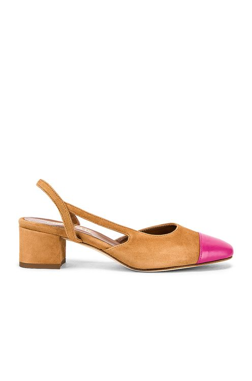 Paris Texas Suede Sling Back
