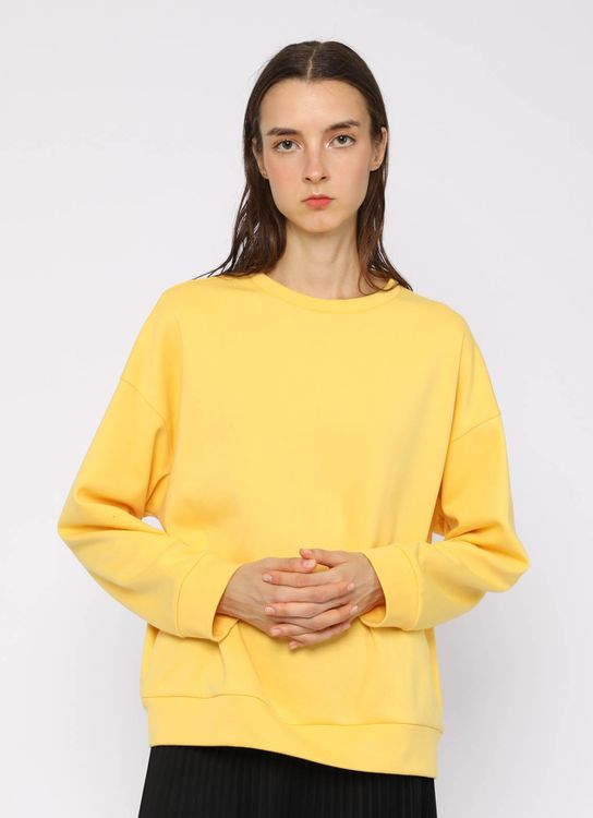 Hattaco Plain Sweater - Yellow