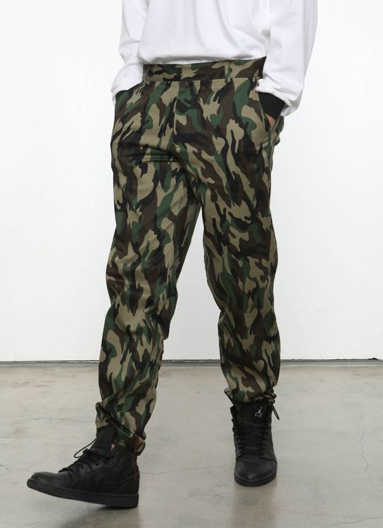 Hattaco Camo Pants - Army Green
