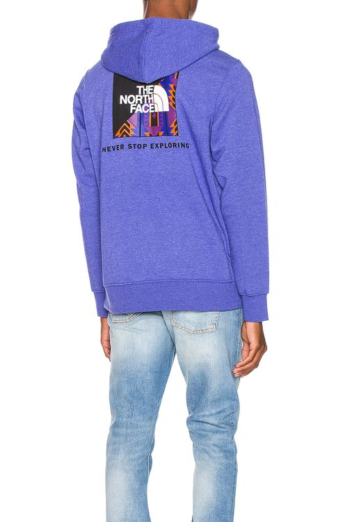 The North Face Black Rage Red Box Pullover Hoodie