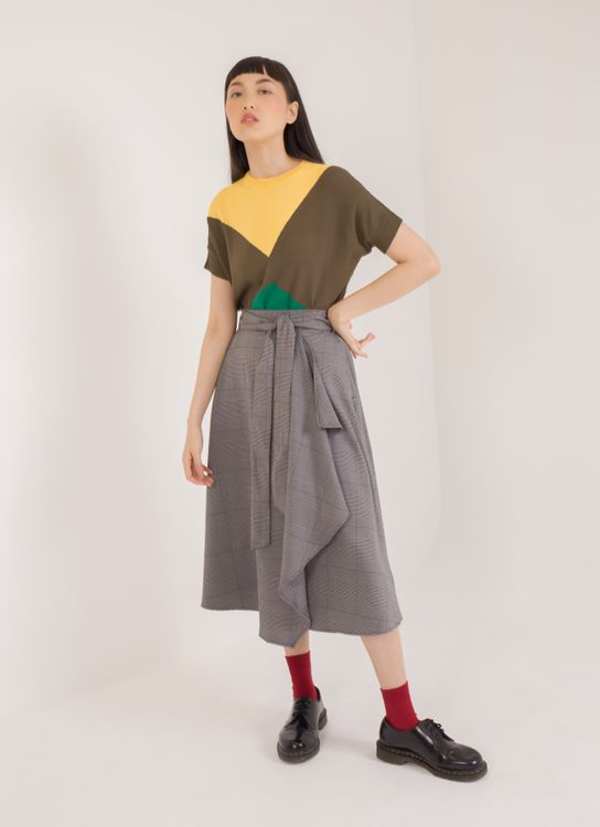 Green Parks Tora Skirt - Gray