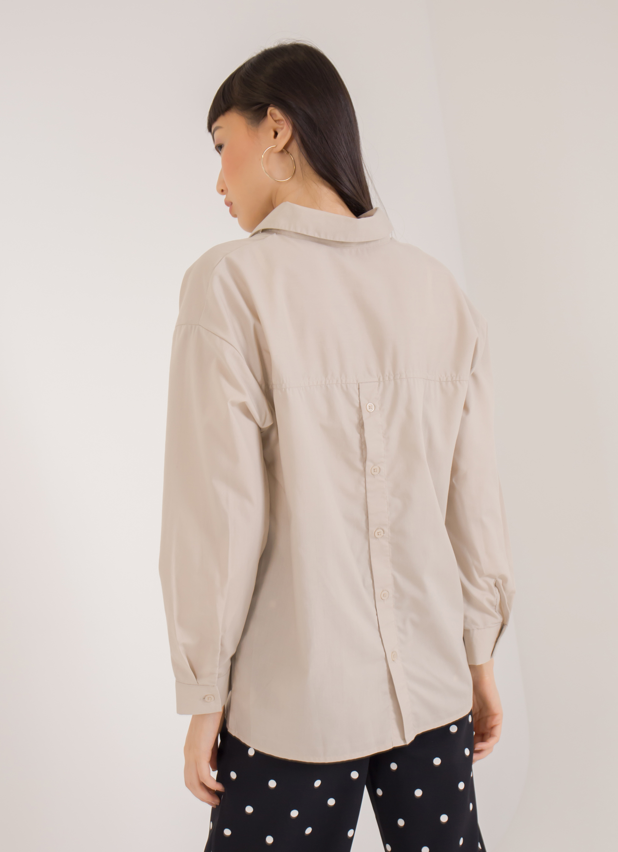 Sevendays Sunday Barbara Longsleeve Blouse - Beige