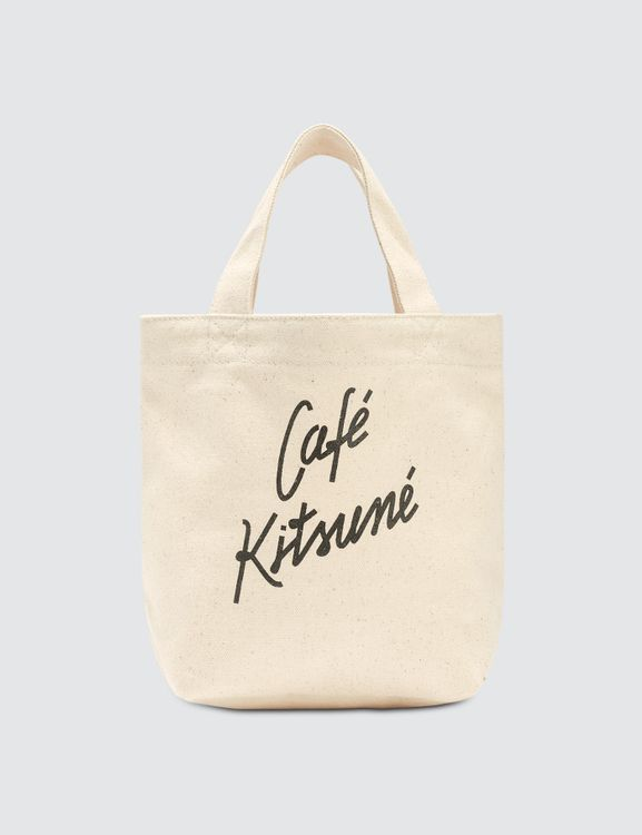 MAISON KITSUNE Cafe Kitsune Small Tote Bag