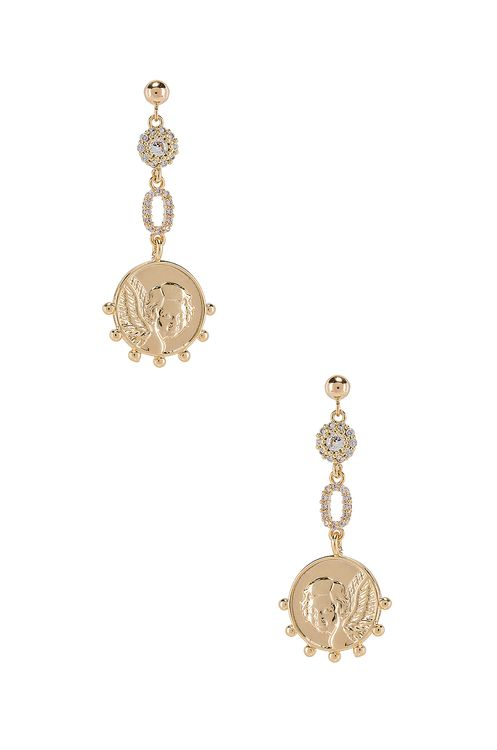 Natalie B Jewelry The Angelic Earrings