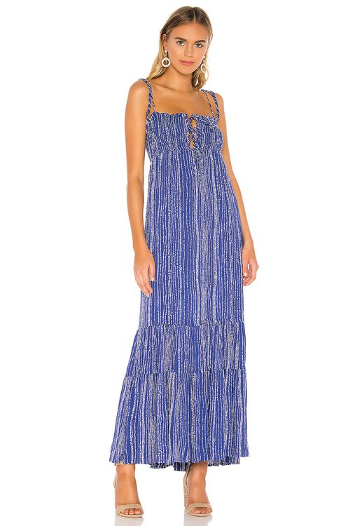 Sun Becomes Her Sayulita Maxi Dress