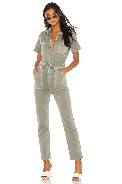 NSF Kami Fitted Patch Pocket Jumpsuit