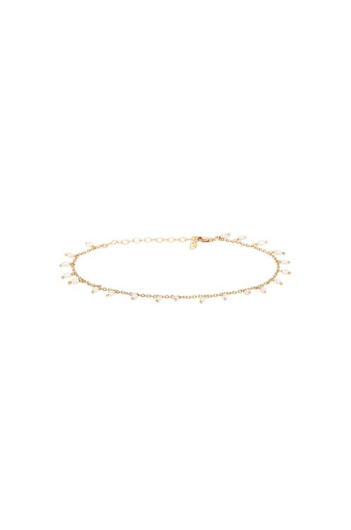 Child of Wild Dainty Pearl Anklet