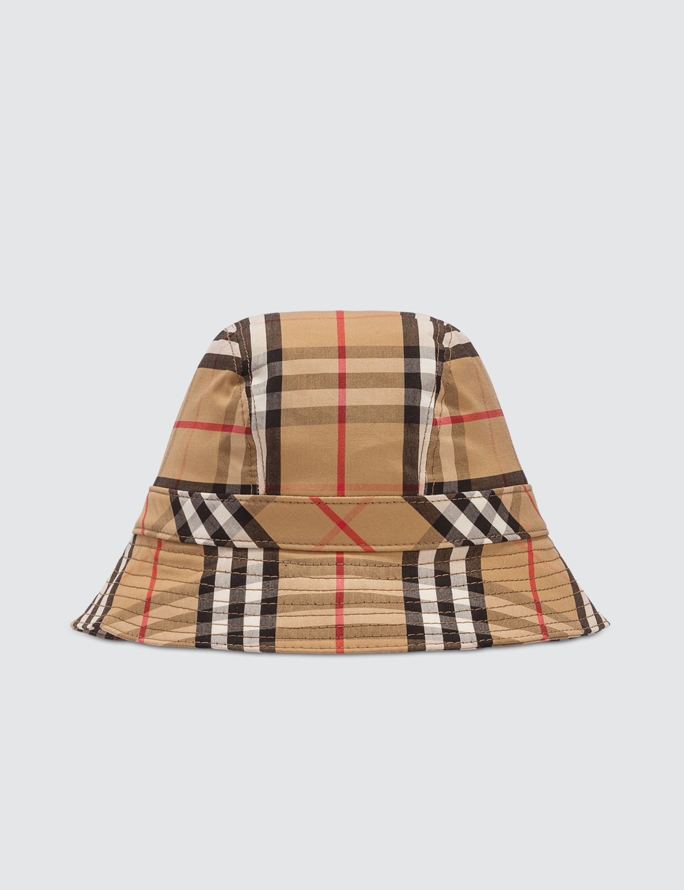 ed3218a3d32 Burberry Vintage Check Bucket Hat  Burberry Vintage Check Bucket Hat ...