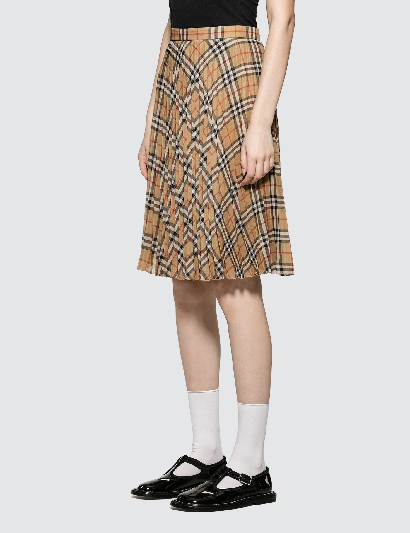 d8994bbd88 Buy Original Burberry Vintage Check Pleated Skirt at Indonesia ...