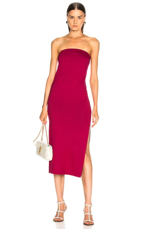 ENZA COSTA for FWRD Side Slit Dress