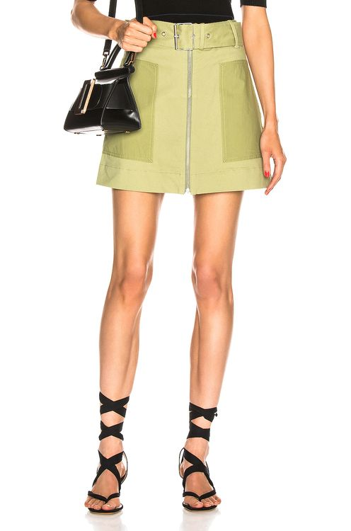 Proenza Schouler PSWL Belted Utility Skirt