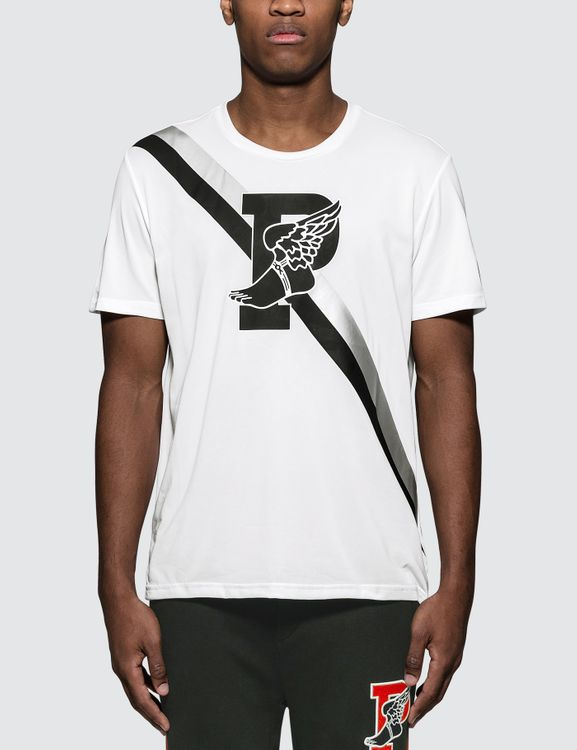 Polo Ralph Lauren P-Wing Graphic Print T-Shirt in White