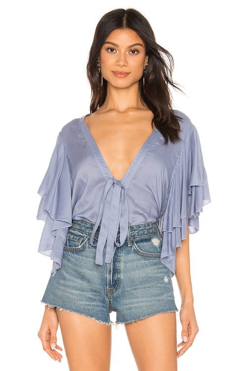 Free People Call Me Later Bodysuit
