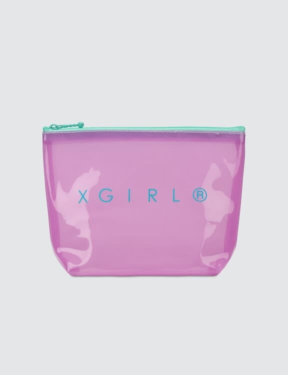 X-Girl Pvc Clear Pouch