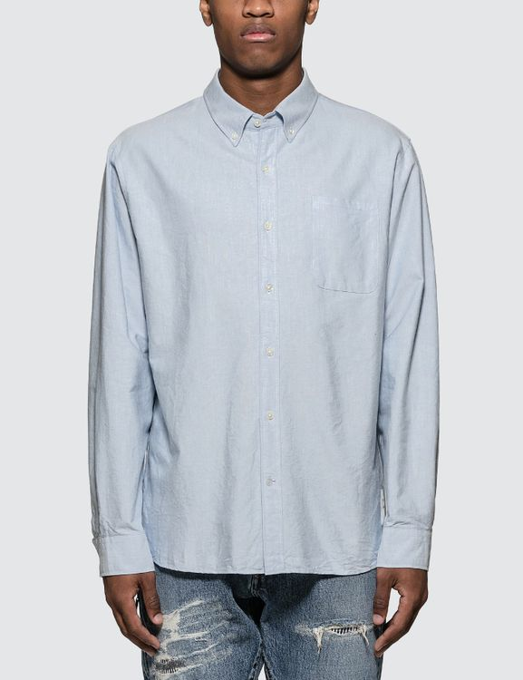 Denim by Vanquish & Fragment Icon Oxford L/S Shirt