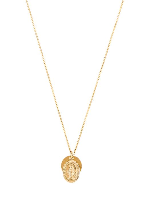ERTH Vintage Coin Necklace