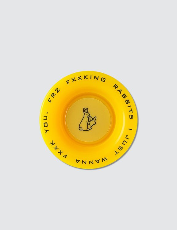 #FR2 Fxxking Rabbit Yellow Yo-yo Toy