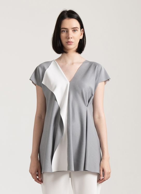 Clemence Volcon Top - Gray