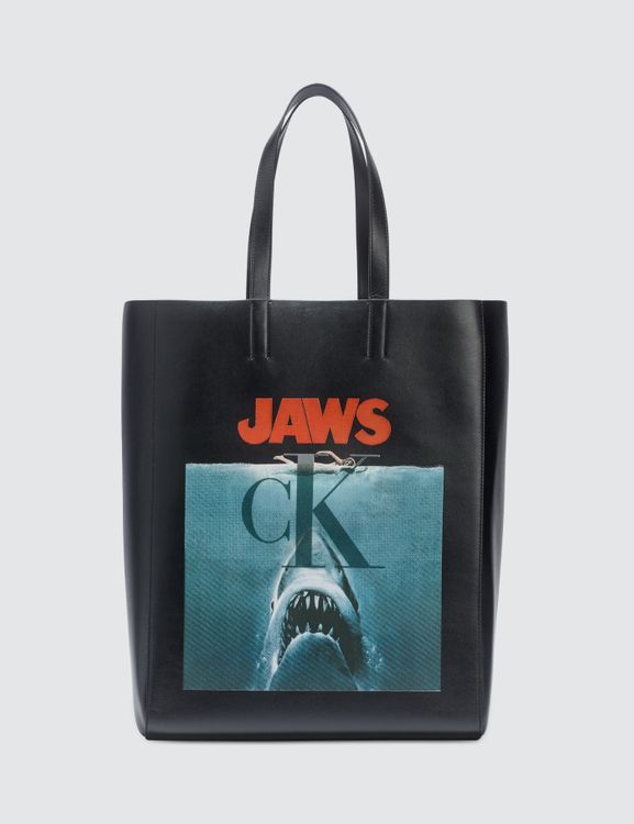 CALVIN KLEIN 205W39NYC Jaws Tote Bag