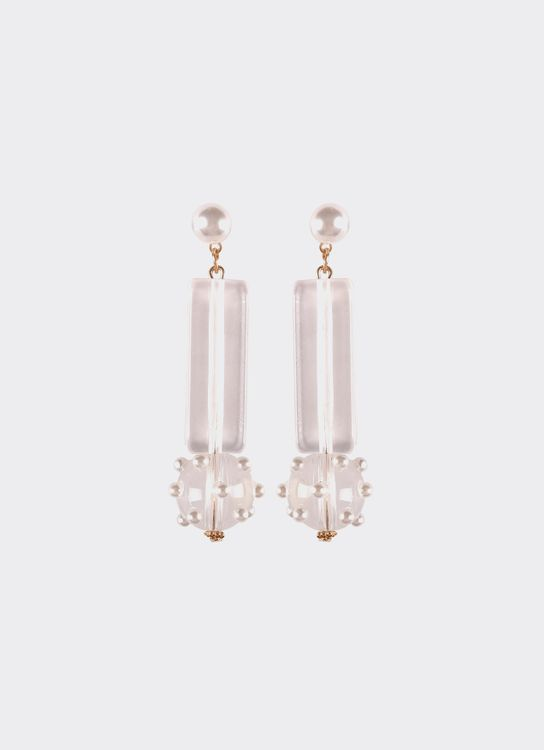 By Jowe Amy Earrings - White