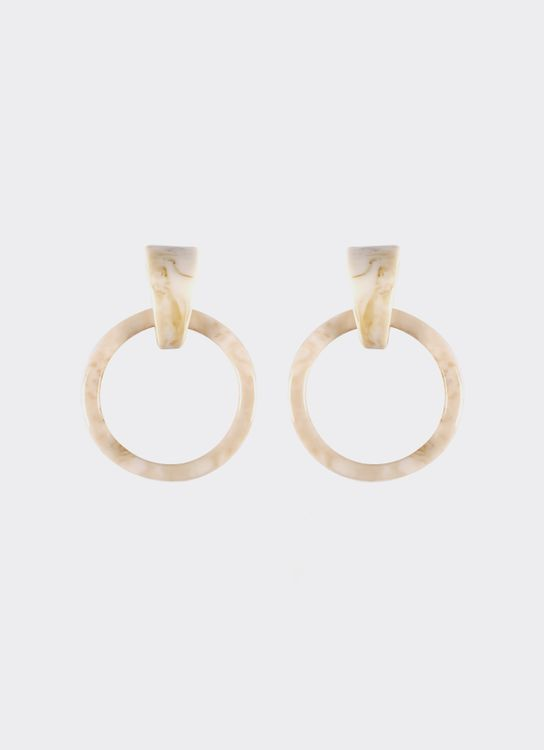 By Jowe Atreya Earrings - White